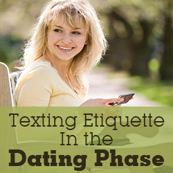 Dating etiquettes